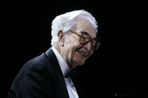 La légénde du jazz américain, Dave Brubeck, ici en concert en 2005 à Nuremberg.