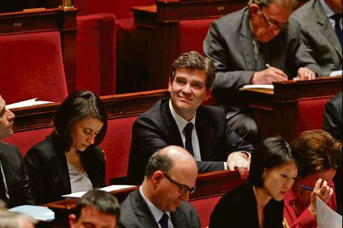 Arnaud Montebourg, mercredi à l'Assemblée nationale.