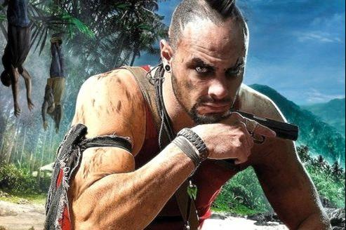 Vaas, le charismatique chef des pirates de Rook Island.
