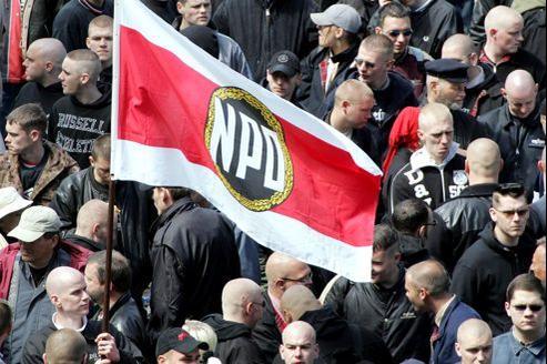 Le NPD (ici une manifestation en 2005) compterait 6000 membres.