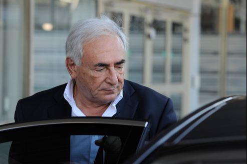 Le juge n'a pas demandé la présence de Dominique Strauss-Kahn lundi.