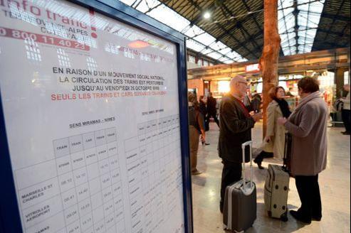 Les conséquences de ces changements d'horaires pourront être multiples: décalage des heures de départ et d'arrivée des trains, remplacement de certains trains par des autocars et allongement de la durée des trajets.