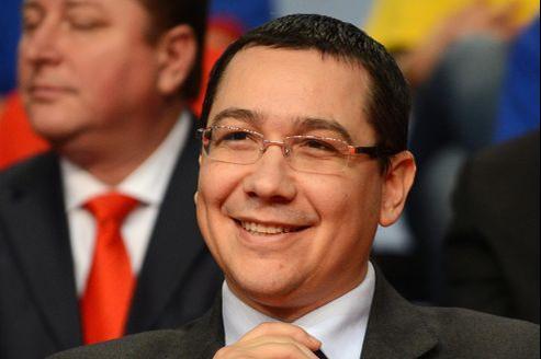 Victor Ponta vendredi à Craiova.