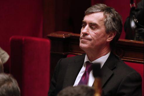Jérôme Cahuzac, mercredi, à l'Assemblée.