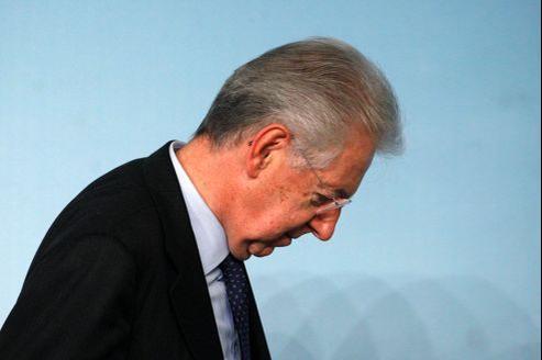 Mario Monti, président du Conseil italien.