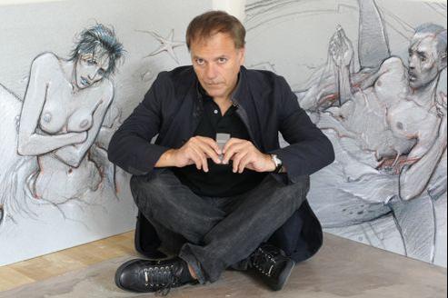 Le directeur du Louvre a donné «carte blanche» à Enki Bilal pour imaginer une intervention au sein de son musée.