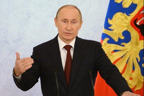 «Une exigence de transparence doit s'appliquer à tous», a déclaré le président russe, Vladimir Poutine, mercredi lors de son «adresse à la Nation».