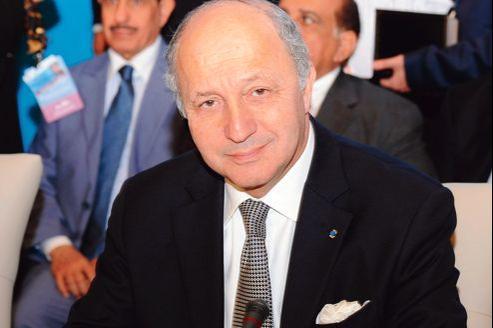 Laurent Fabius, ministre français des Affaires étrangères, mercredi à Marrakech.