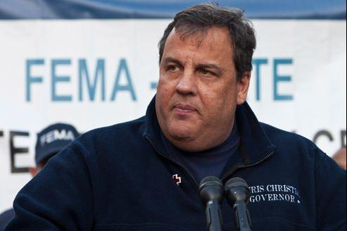 Chris Christie, en novembre, lors d'une conférence de presse à Hoboken dans le New Jersey.