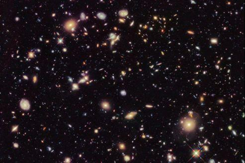 Le dernier champ profond du ciel réalisé par le télescope spatial Hubble a détecté 7 galaxies formées très peu de temps après le big bang.