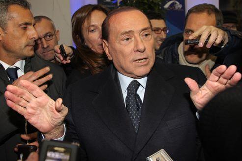 Silvio Berlusconi s'est rendu à Bruxelles ce jeudi, pour la réunion des partis conservateurs européens.