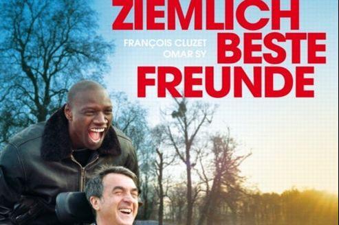 Ziemlich beste Freunde a créé la surprise dès le premier week-end en salle avec 290000 entrées .