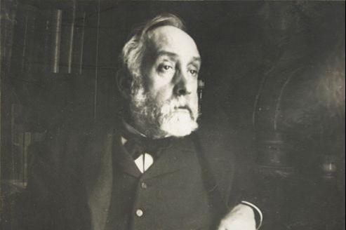 Autoportrait photographique d'Edgar Degas, à la fin du XIXe siècle.