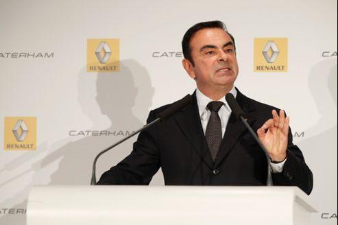 Carlos Ghosn, PDG de Renault, à Boulogne-Billancourt, le 5 novembre dernier.