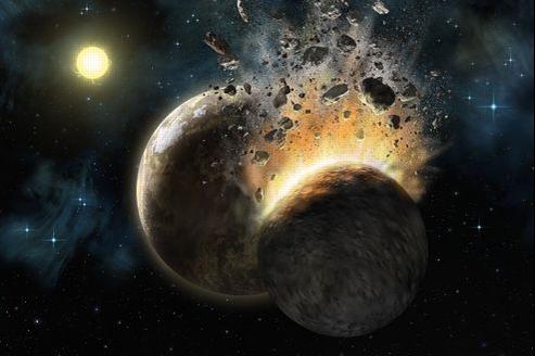 Pour certains millénaristes, la fin du monde serait provoquée par la collision d'une mystérieuse planète appelée Nibiru.