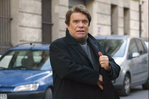 L'homme d'affaires et ancien président de l'Olympique de Marseille Bernard Tapie.