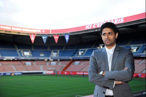 Le président du PSG, Nasser Al-Khelaifi