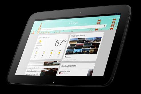 La Nexus 10 de Google, produite par Samsung, est en rupture de stocks sur le site de vente en ligne et les circuits de distribution n'ont pas été fournis.
