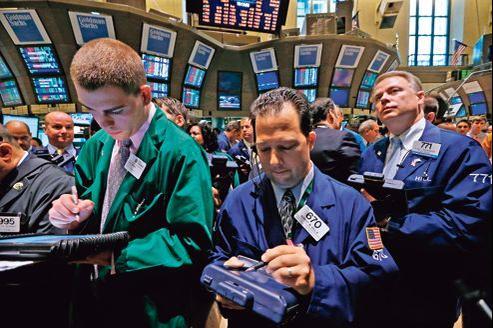 Une salle des marchés à la Bourse de New York, le 28 juin.