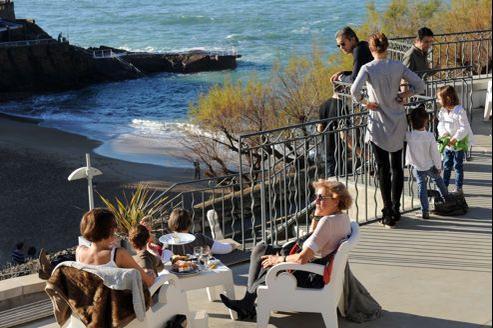 La température affichait 24,3°C à Biarritz dimanche 23 décembre.