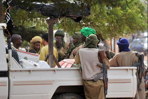 Islamistes armés à Gao, dans le nord du Mali, le 21 septembre dernier.