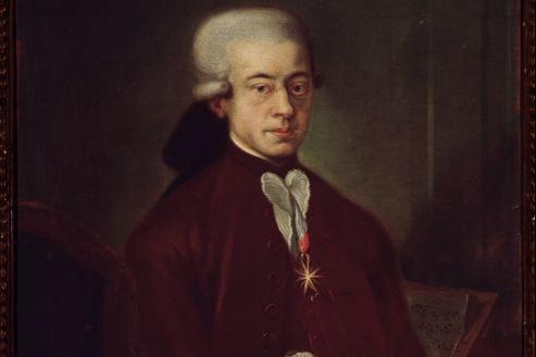 Portrait anonyme de Mozart à 21 ans (1777).