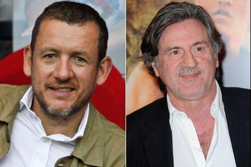 Danny Boon et Daniel Auteuil perçoivent des salaires qui ne sont pas justifiés par les recettes de leurs films. (Crédits: Abaca)