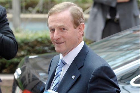Le premier ministre irlandais, Enda Kenny, peut compter sur le soutien tactique du FMI.
