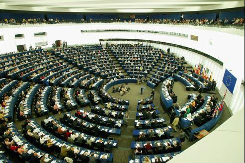 Vue générale du Parlement Européen à Strasbourg. Crédits photo: François Bouchon