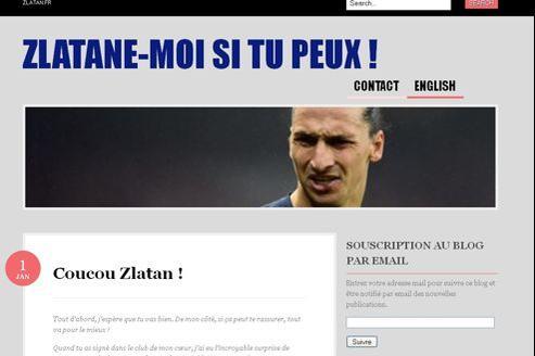 Le site, mis en ligne il y a deux jours, a trouvé du relais sur les réseaux sociaux. La valorisation du nom de domaine zlatan.fr pourrait en profiter.