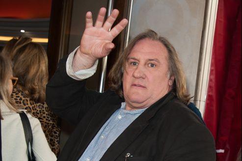 Gérard Depardieu, le 30 septembre 2012 à Paris.
