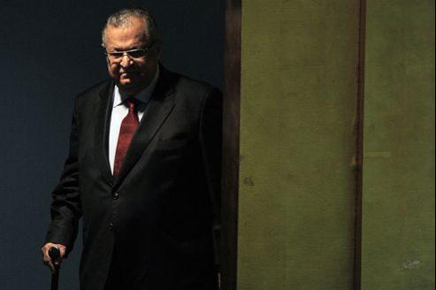 Jalal Talabani, en septembre, à New York, juste avant de prononcer son discours devant l'Assemblée générale des Nations unies.