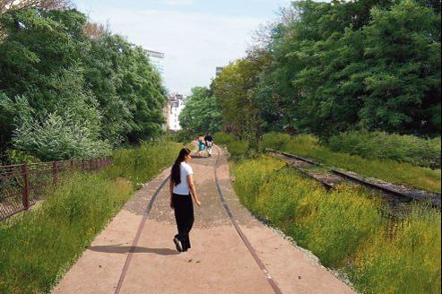 D'ici à la fin de l'année, quelque 3 hectares de la Petite Ceinture seront réaménagés en promenade dans le XVe.