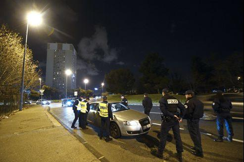 Ronde de policiers le 31 décembre à Marseille.