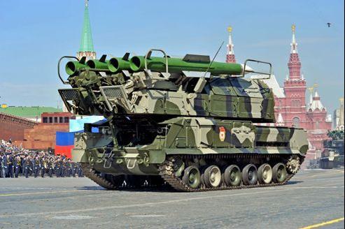 Des lanceurs de missile anti aerien SA17, que Moscou fournissait à son allié syrien, seraient aujourd'hui entre les mains de Téhéran.