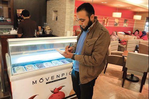 Le café «halal» D. Cappuccino, au Caire, est ouvert depuis six mois.