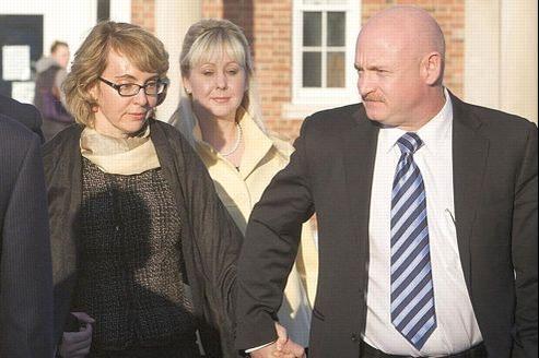 Début janvier, Gabrielle Giffords a rendu visite aux familles touchées par la fusillade de Newtown.