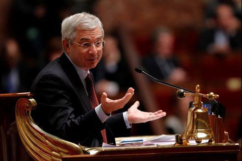 Claude Bartolone en octobre 2012 à l'Assemblée nationale.