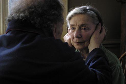 Emmanuelle Riva dans Amour.