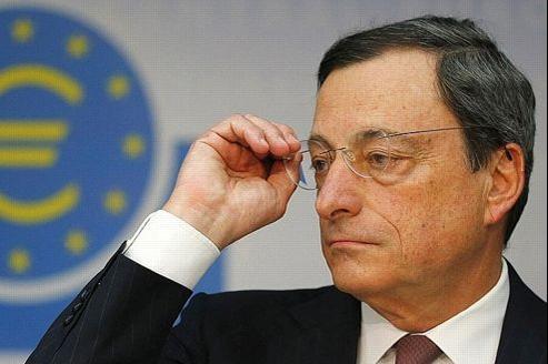 Mario Draghi, ce jeudi à Francfort.