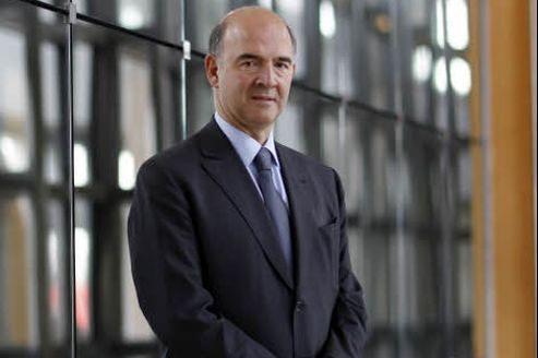 Pierre Moscovici, ministre de l'Économie. Crédit: Jean-Christophe Marmara/Le Figaro
