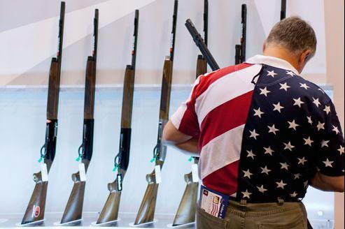 Une réunion de la NRA, le lobby des armes américain, à Saint Louis, aux États-Unis.