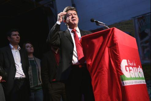 Jean-Luc Mélenchon et le Front de gauche présentent leurs vœux à la presse.