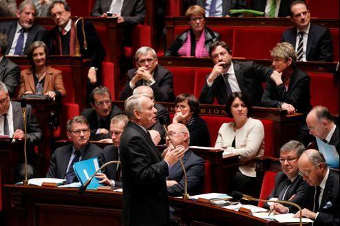 Le premier ministre Jean-Marc Ayrault, lors de la séance des questions au gouvernement, à l'Assemblée nationale, en octobre dernier.