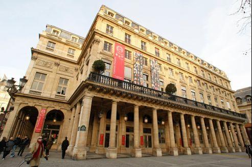 La Comédie-Française, place du Palais-Royal, à Paris.