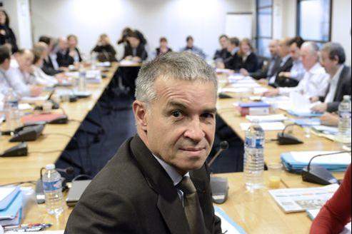 Patrick Bernasconi, chef de file de la délégation patronale dans les négociations sur l'emploi.