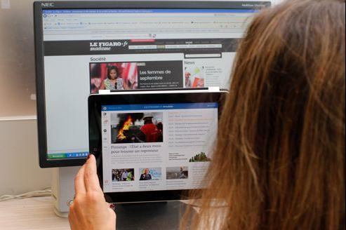 Après la consultation de messagerie et les jeux, la visite de sites d'info fait partie des principales activités sur tablettes.