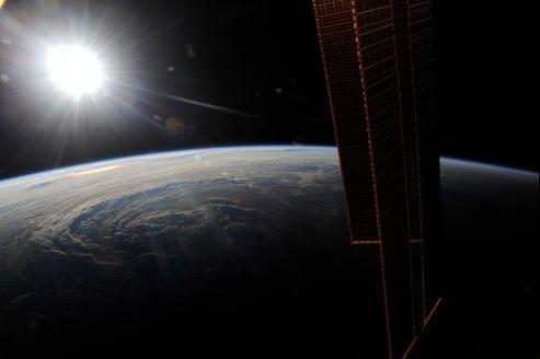 L'ouragan Earl vu depuis la station spatiale internationale en 2010. (crédits photo: Nasa)