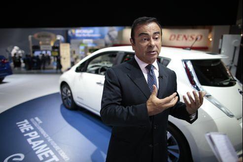 Carlos Ghosn croit à la voiture sans pilote