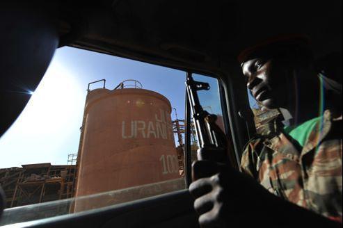 Une exploitation d'uranium d'Areva, au Niger, non loin du Mali (illustration). L'entreprise affirme «ne pas être intéressée» par le Mali.